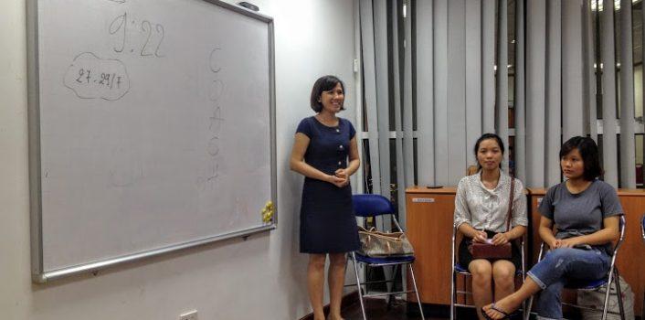 Gặp mặt Coaching tháng 6/2016: Trải nghiệm & Thực hành